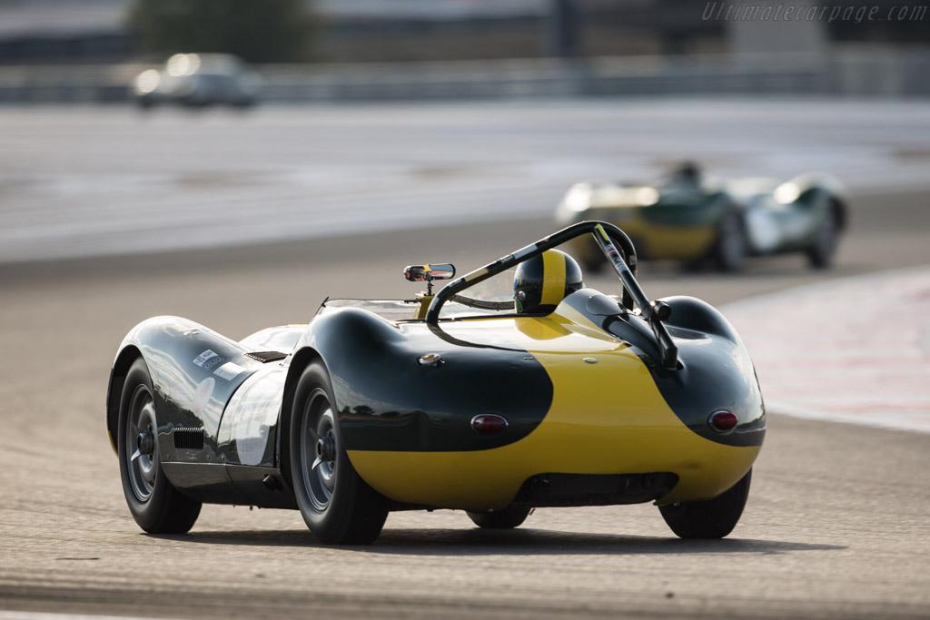Lister Jaguar Knobbly - Chassis: BHL 3 - Driver: Anthony Schrauwen / Jan Gijzen  - 2017 Dix Mille Tours