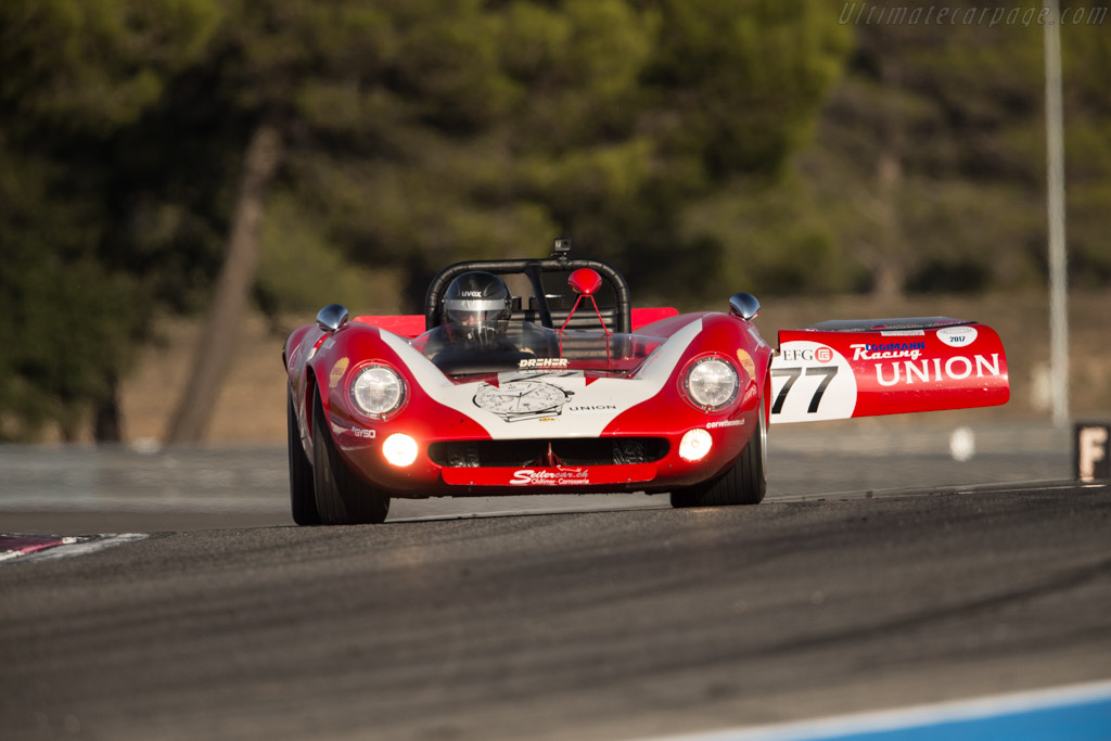 Lola T70 MkII Spider - Chassis: SL71/49 - Driver: Martin Wachter  - 2017 Dix Mille Tours