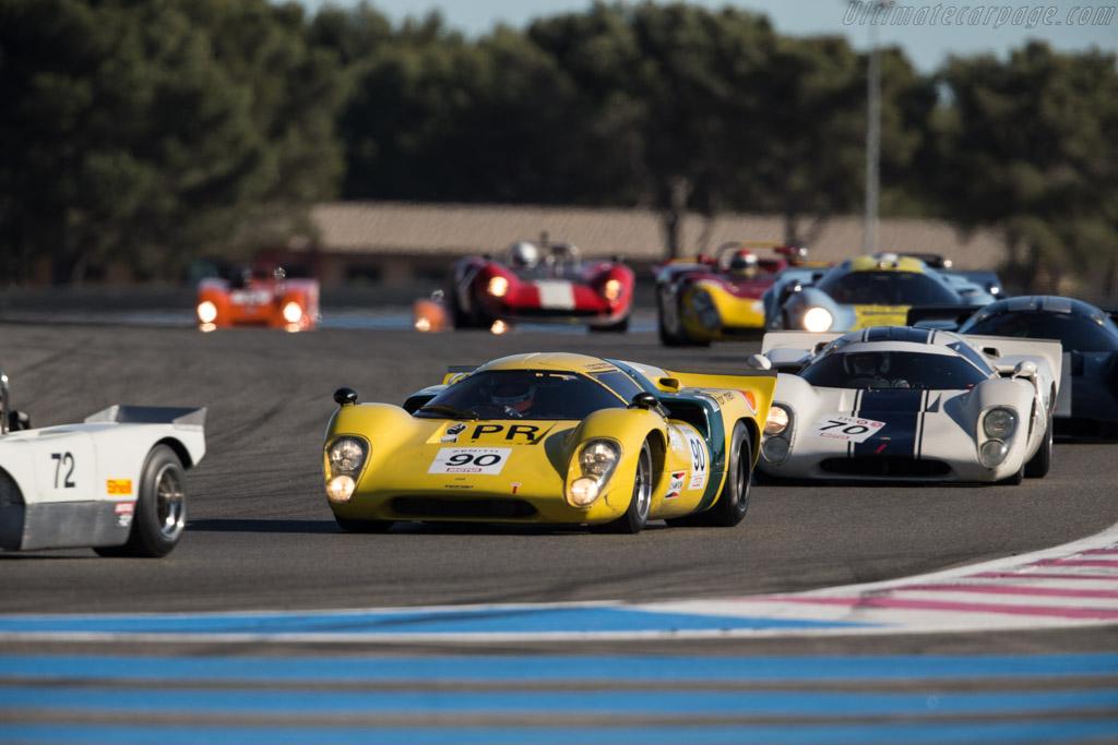Lola T70 MkIIIB - Chassis: SL76/148 - Driver: Roald Goethe / Stuart Hall  - 2017 Dix Mille Tours