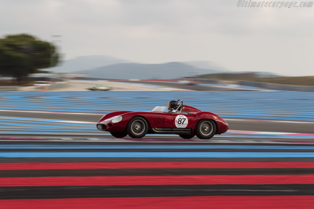 Maserati 300S - Chassis: 3067 - Driver: Alexander Sator  - 2017 Dix Mille Tours