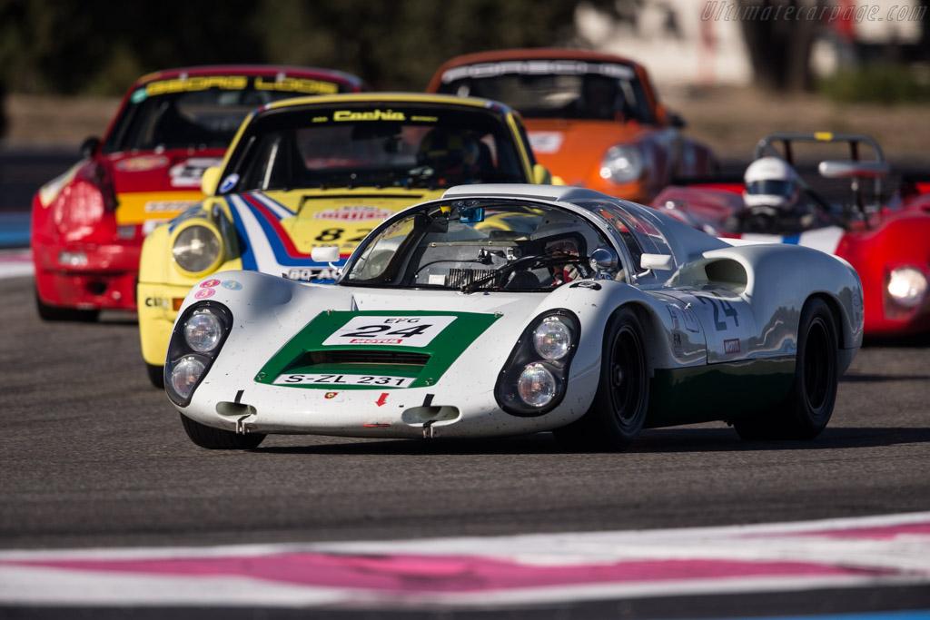 Porsche 910 - Chassis: 910-005 - Driver: Uwe Bruschnik  - 2017 Dix Mille Tours