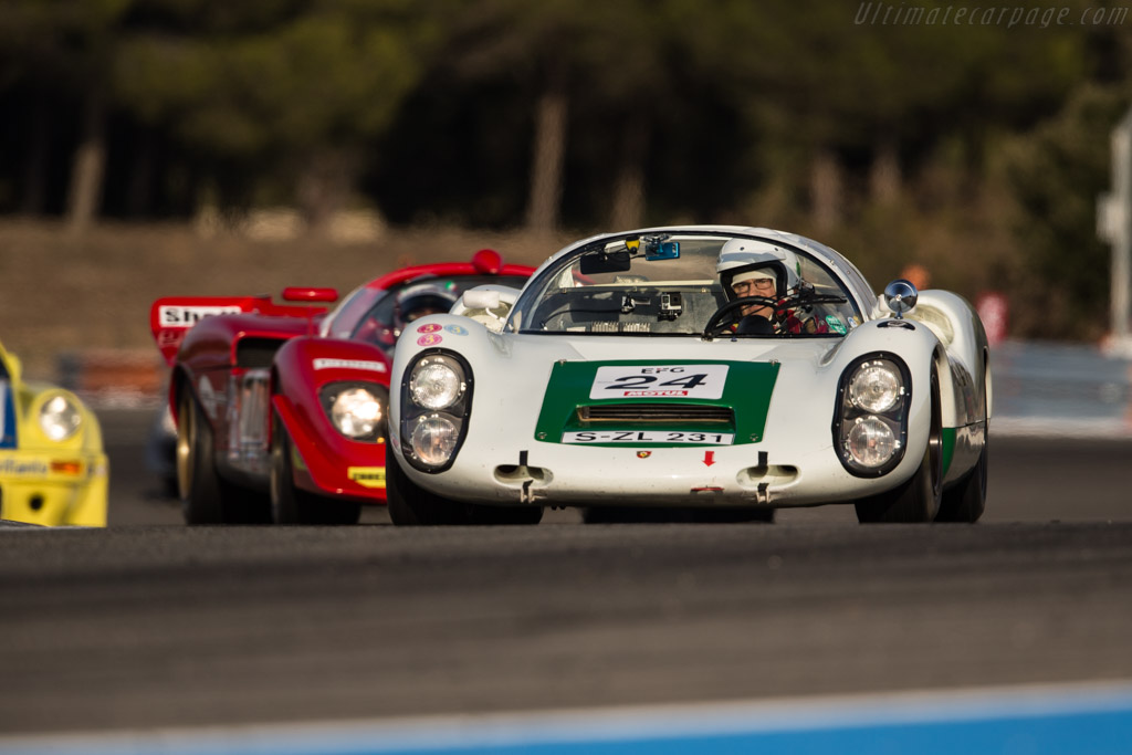 Porsche 910 - Chassis: 910-005 - Driver: Uwe Bruschnik  - 2017 Dix Mille Tours