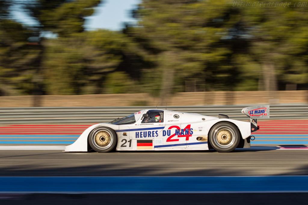 Porsche 962C - Chassis: 962-155 - Driver: Ivan Vercoutere / Ralf Kelleners  - 2017 Dix Mille Tours
