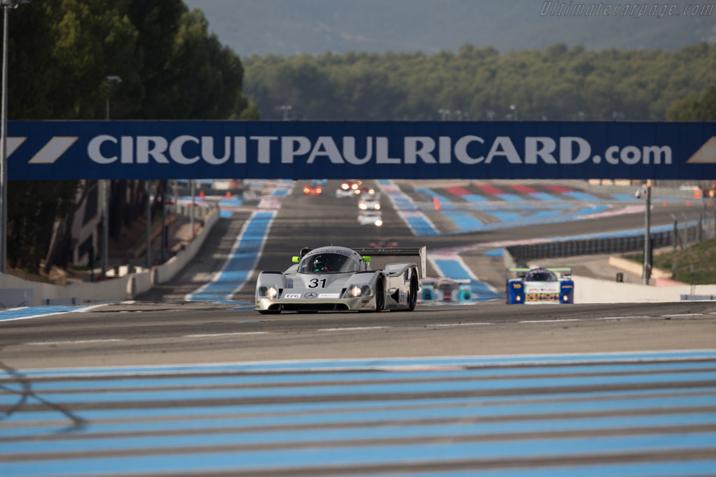 Sauber Mercedes C11 - Chassis: 89.C11.00 - Driver: Kriton Lendoudis / Rui Aguas  - 2017 Dix Mille Tours