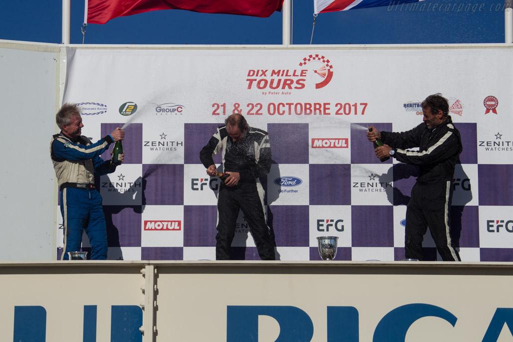 The podium    - 2017 Dix Mille Tours