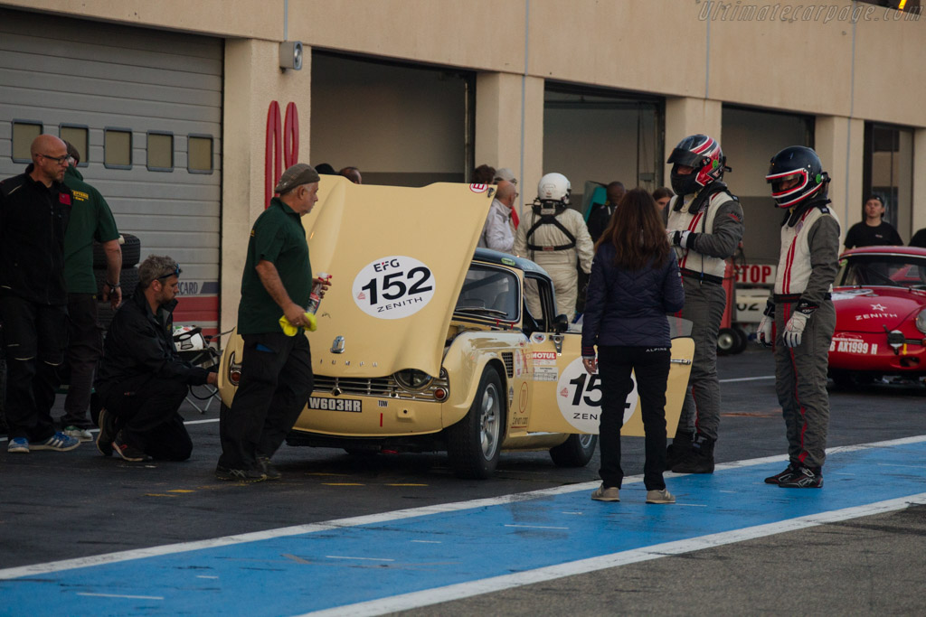 Triumph TR4 - Chassis: CT1340L - Driver: Gonzague Ruchaud / Stanislas Gurdjian  - 2017 Dix Mille Tours