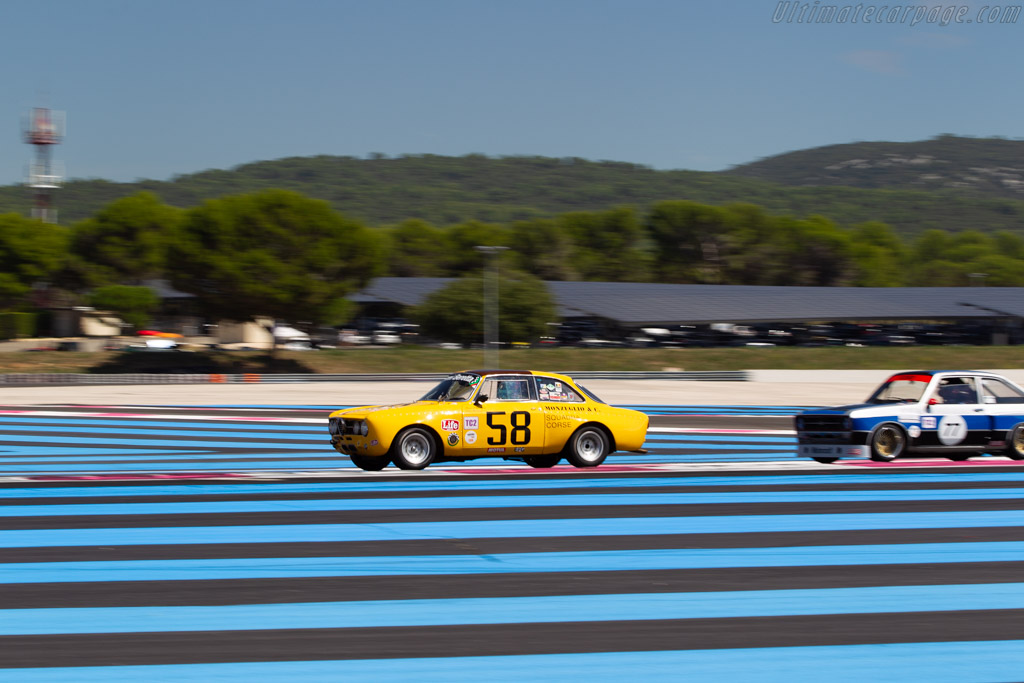 Alfa Romeo 1750 GTAM - Chassis: 1383977 - Driver: Patrick Wilwert / Tom Mailliet  - 2018 Dix Mille Tours