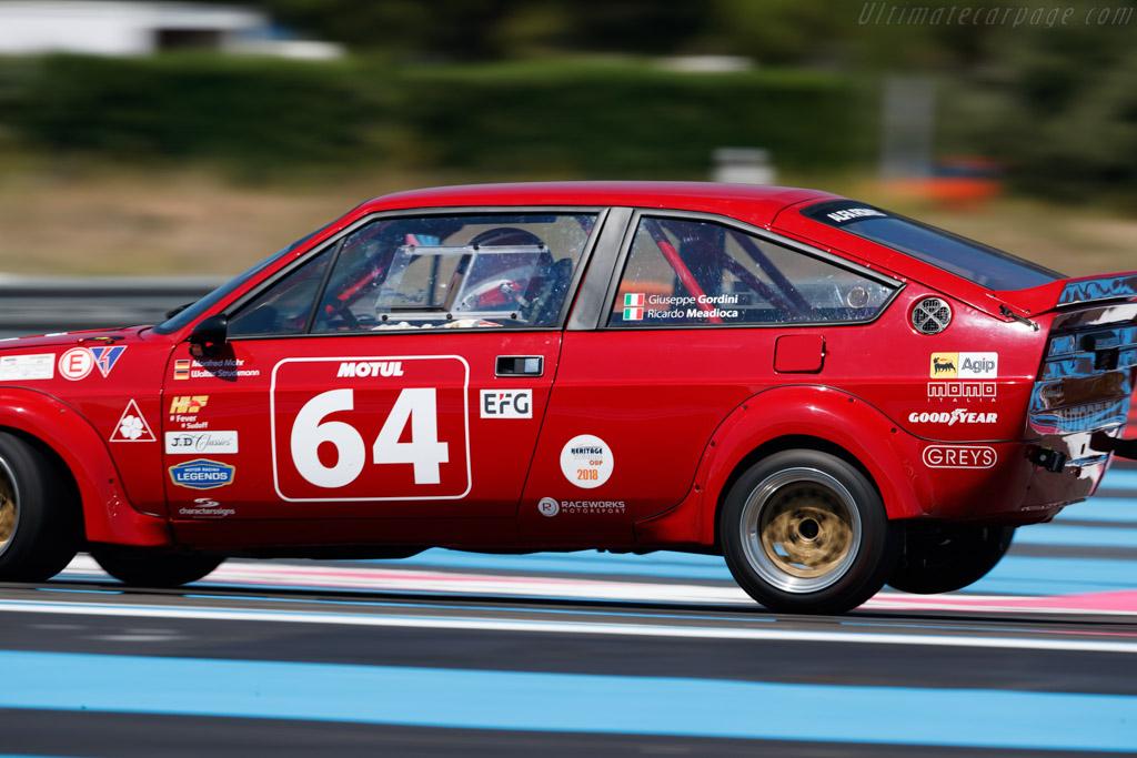 Alfa Romeo Alfasud Sprint Veloce - Chassis: Z4S902450-05046891 - Driver: Geoff Gordon  - 2018 Dix Mille Tours