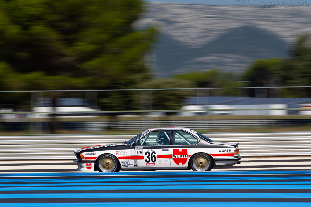BMW 635 CSI - Chassis: E24 RA2-43 - Driver: Franz Wunderlich / Peter Praller  - 2018 Dix Mille Tours