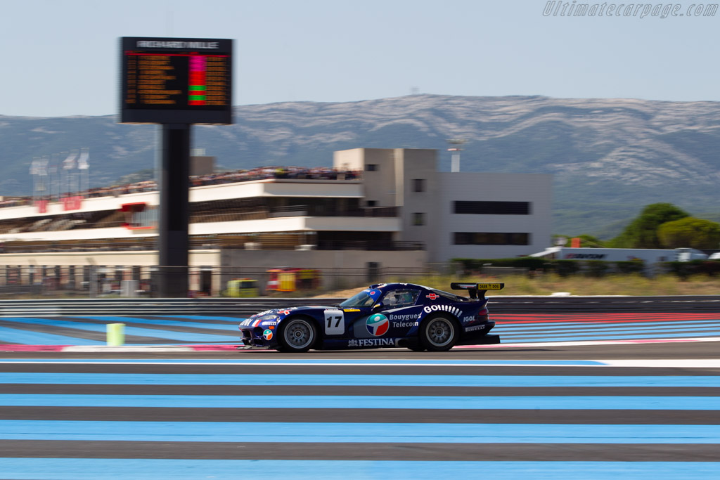 Dodge Viper GTS-R - Chassis: C44 - Driver: Edwin Stucky Ludovic Cholley - 2018 Dix Mille Tours