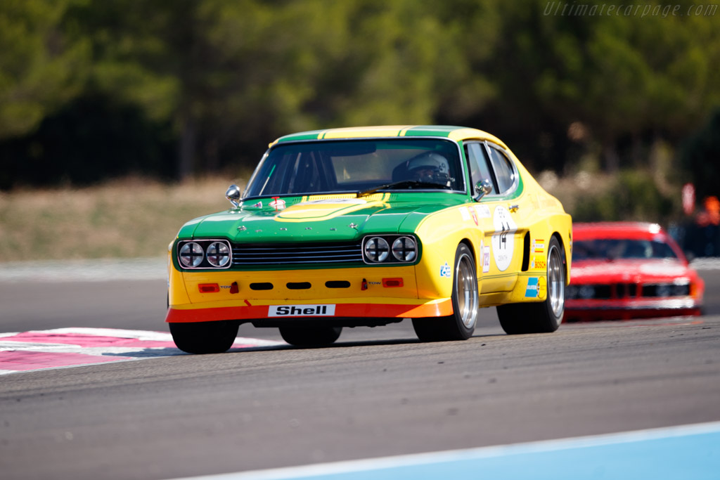 Ford Capri 2600 RS - Chassis: GAECMR57537 - Driver: Yves Vogele  - 2018 Dix Mille Tours