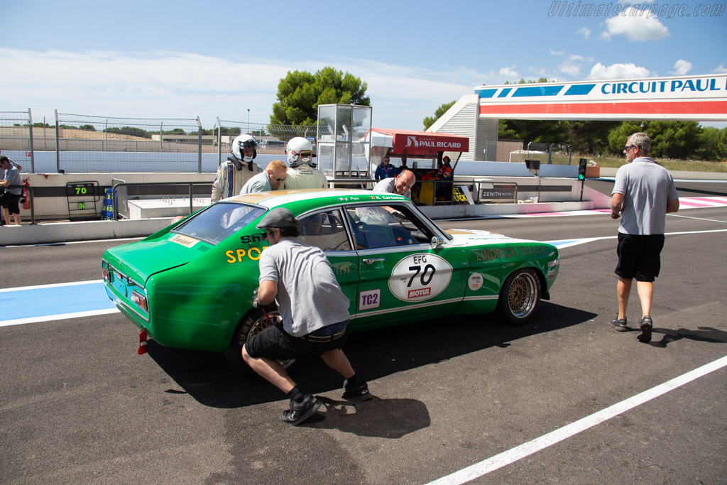Ford Capri 2600 RS - Chassis: BBECNS34576 - Driver: Geoffroy Peter / Kristoffer Cartenian  - 2018 Dix Mille Tours