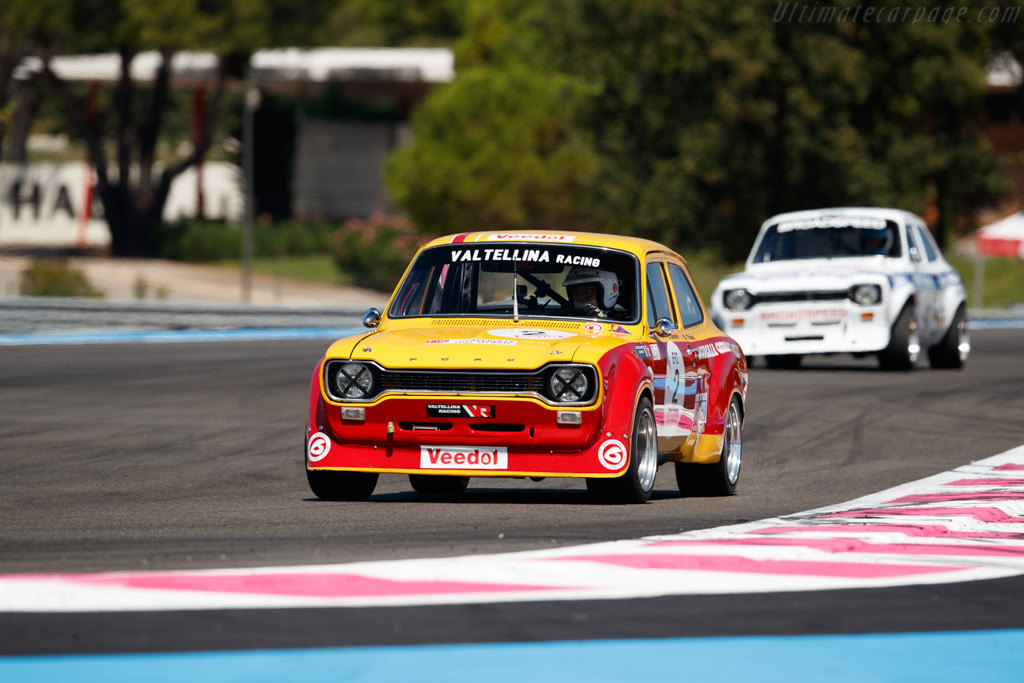 Ford Escort Mk1 - Chassis: 1CBA657263 - Driver: Pierre-Alain Thibaut / Chirstian Dumolin  - 2018 Dix Mille Tours