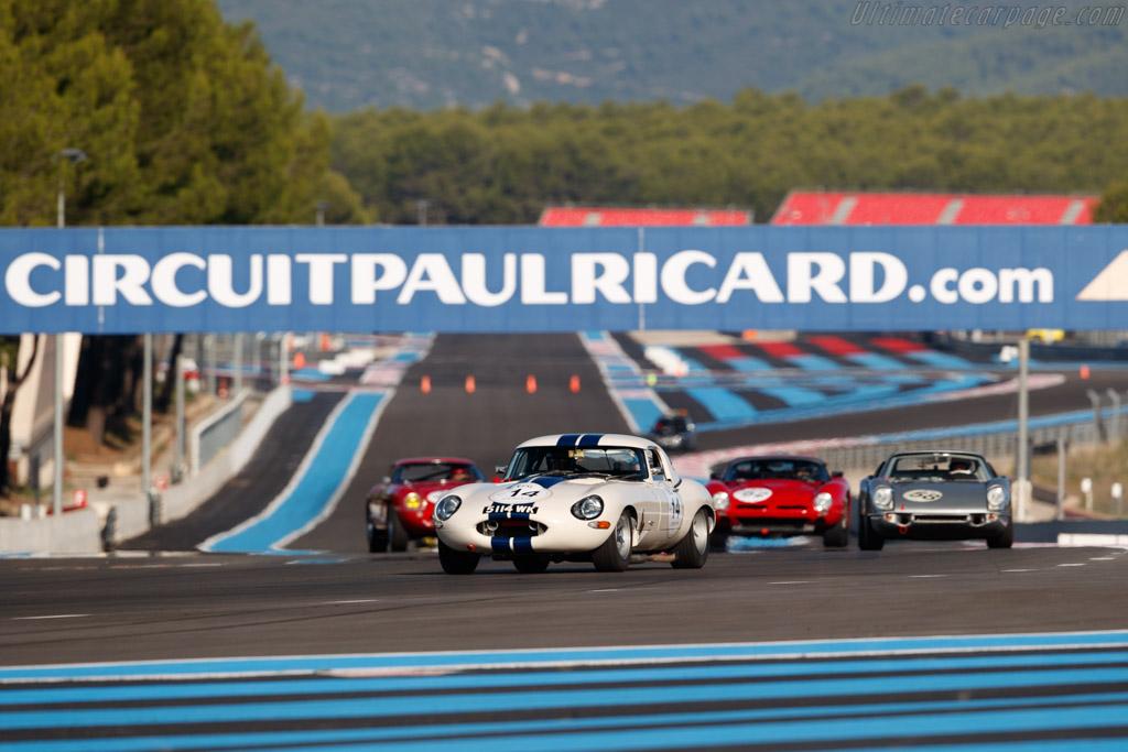 Jaguar E-Type Lightweight  - Driver: Carlos Monteverde - 2018 Dix Mille Tours