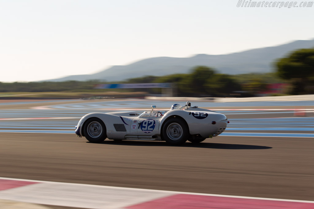Lister Chevrolet Knobbly - Chassis: BHL18 - Driver: Wolf Zweifler  - 2018 Dix Mille Tours