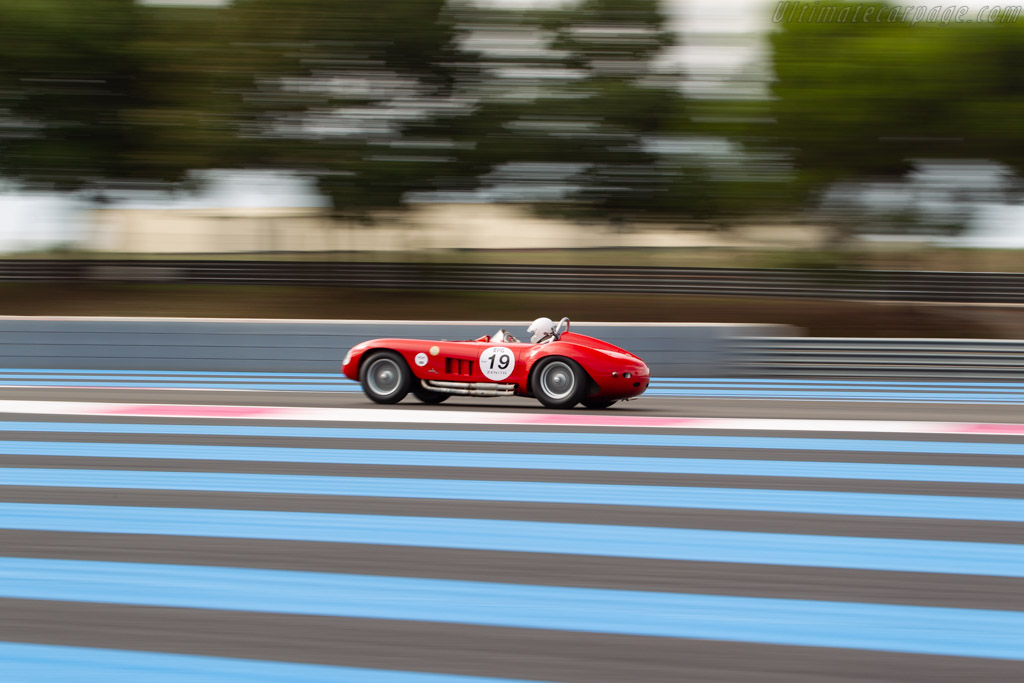 Maserati 300S - Chassis: 3061 - Driver: Pat Buniatre  - 2018 Dix Mille Tours