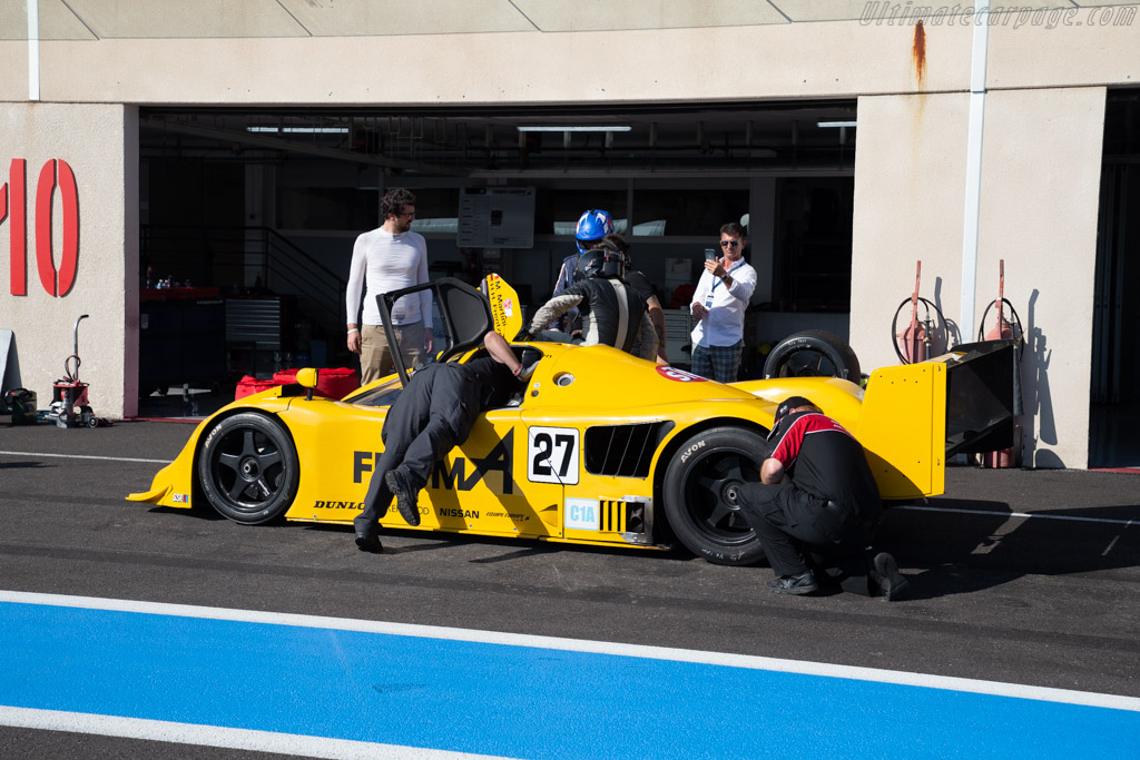 Nissan R90 CK - Chassis: R90C/7 - Driver: Pierre Alain France / Erwin France  - 2018 Dix Mille Tours