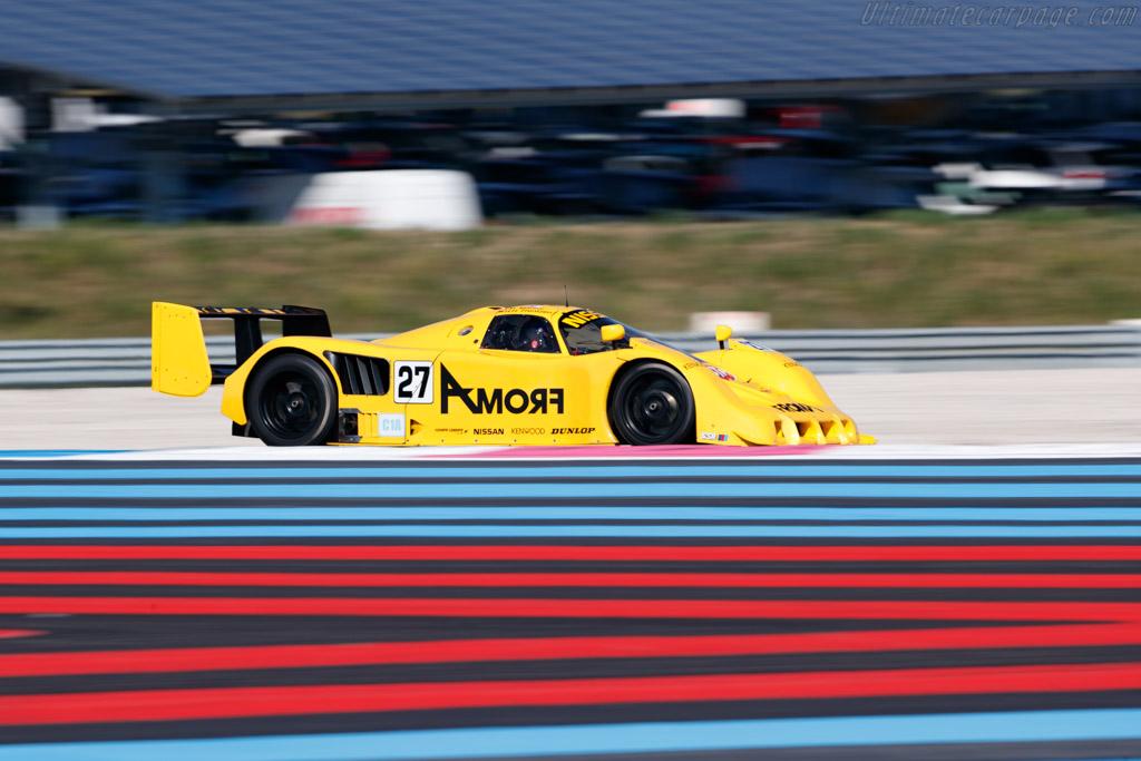 Nissan R90 CK - Chassis: R90C/7 - Driver: Pierre Alain France / Erwin France - 2018 Dix Mille Tours