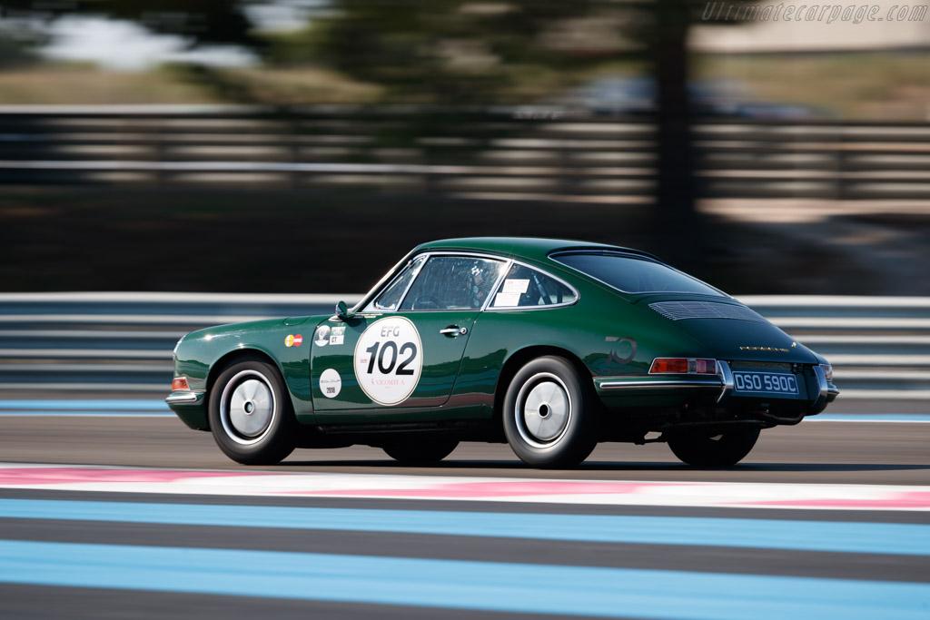 Porsche 911 - Chassis: 302219 - Driver: James Turner / Richard Meaden  - 2018 Dix Mille Tours