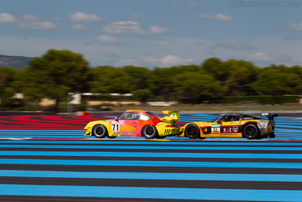 Porsche 993 GT2 Evo  - Driver: Jean-Francois Piquet / Alain Triniane  - 2018 Dix Mille Tours