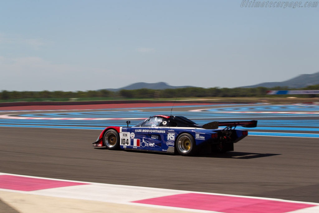 Spice SE89C - Chassis: SE89C-002 - Driver: Philippe Scemama  - 2018 Dix Mille Tours