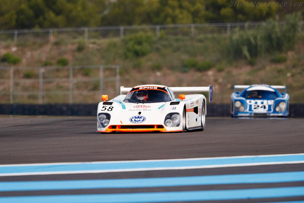 Spice SE90C - Chassis: SE90C-020 - Driver: Jean-Marc Merlin  - 2018 Dix Mille Tours
