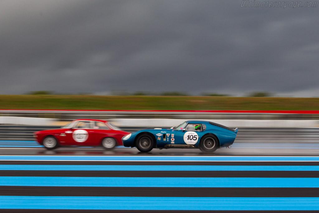 AC Shelby Cobra Daytona - Chassis: CSX2166 - Driver: Edwin Stucky / Ludovic Cholley - 2019 Dix Mille Tours