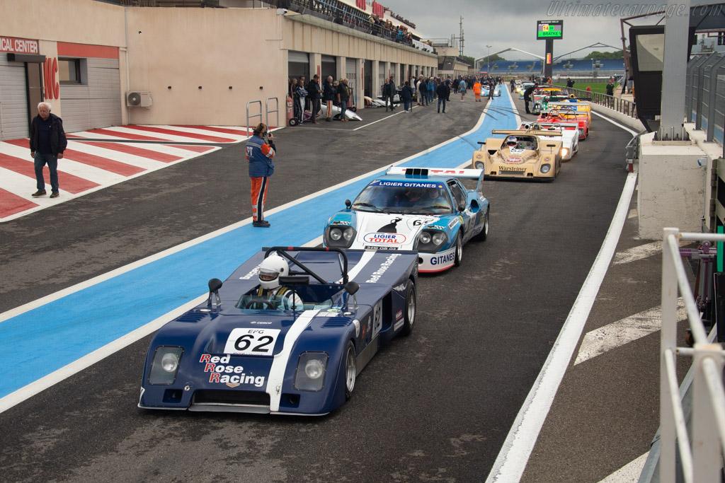 Chevron B23 - Chassis: B23-73-8 - Driver: Guy Peeters / John Burton - 2019 Dix Mille Tours
