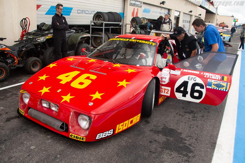 Ferrari 512 BBLM - Chassis: 35525 - Driver: Christian Bouriez - 2019 Dix Mille Tours