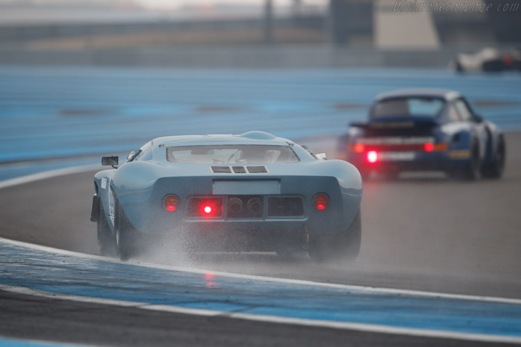 Ford GT40 - Chassis: GEL-W02 - Driver: Jean-Marc Merlin - 2019 Dix Mille Tours