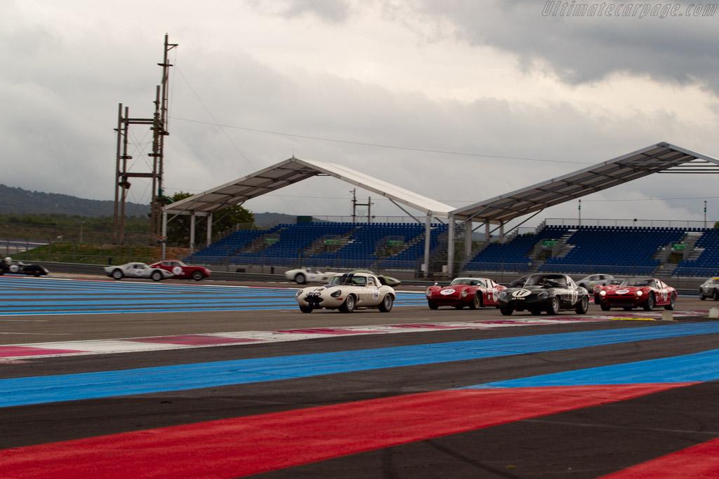 Jaguar E-Type Lightweight  - Driver: Carlos Monteverde / Gary Pearson - 2019 Dix Mille Tours