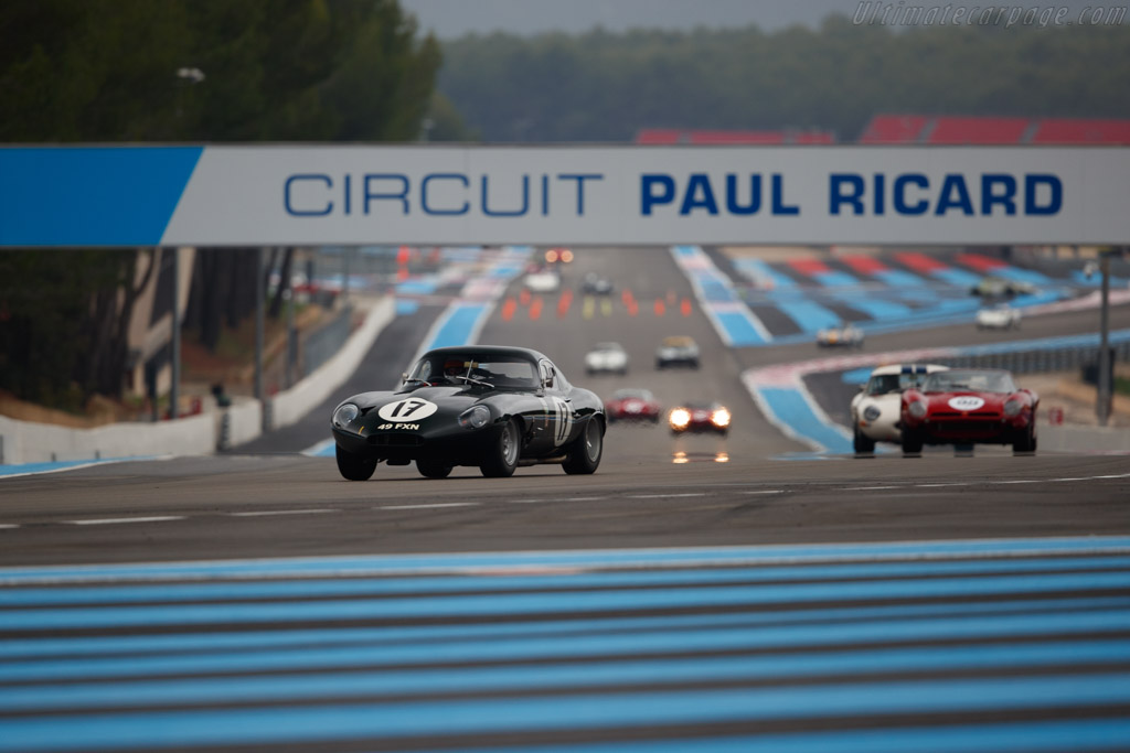 Jaguar E-Type Lightweight  - Driver: Lukas Halusa / Martin Halusa - 2019 Dix Mille Tours