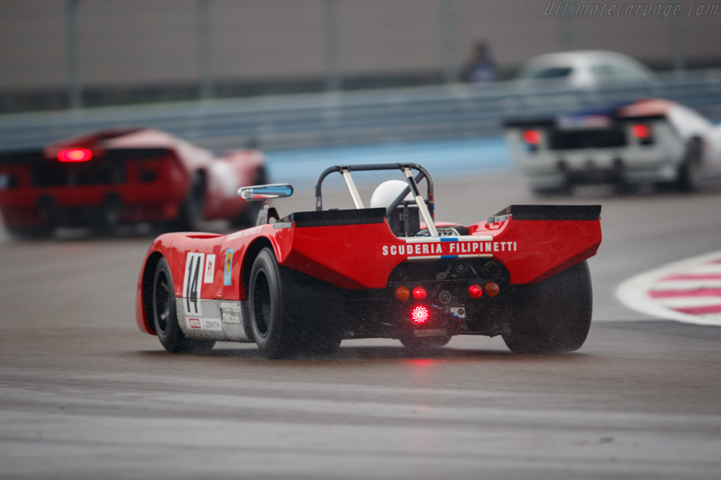 Lola T212 - Chassis: HU18 - Driver: Mauro Poponcini - 2019 Dix Mille Tours