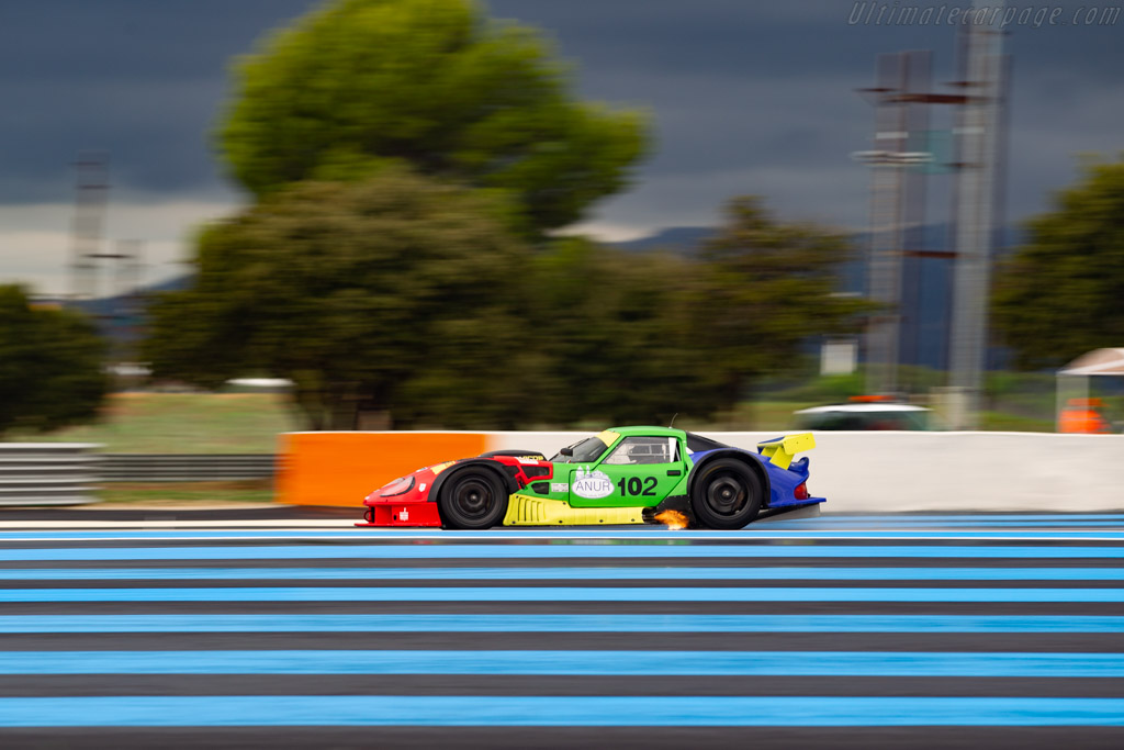 Marcos LM600 Evo - Chassis: ECH03308.02.02 - Driver: Alexandre Leroy - 2019 Dix Mille Tours