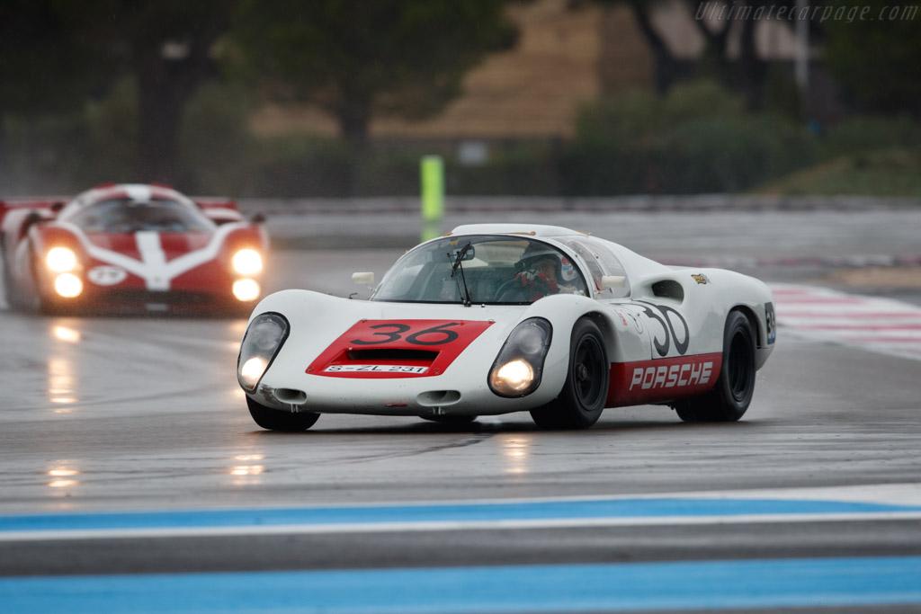 Porsche 910 - Chassis: 910-005 - Driver: Uwe Bruschnik - 2019 Dix Mille Tours