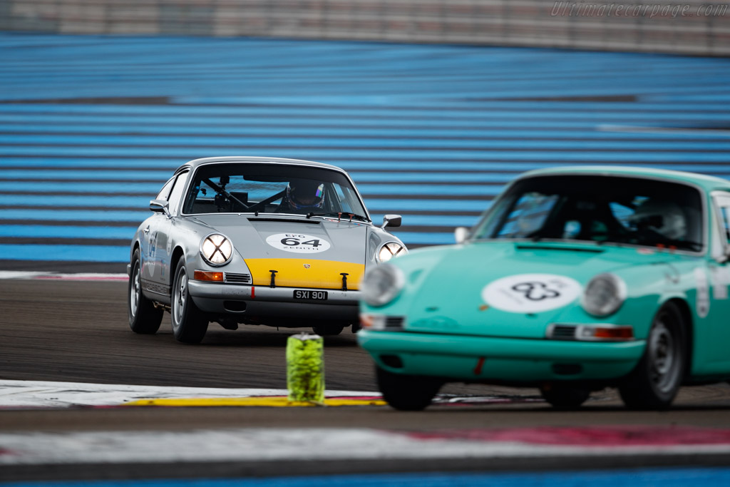 Porsche 911 - Chassis: 300241 - Driver: Andrew Smith / Oliver Bryant - 2019 Dix Mille Tours