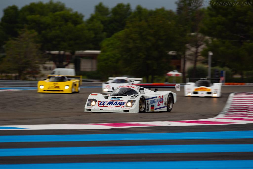 Porsche 962C - Chassis: 962-155 - Driver: Ivan Vercoutere / Ralf Kelleners - 2019 Dix Mille Tours