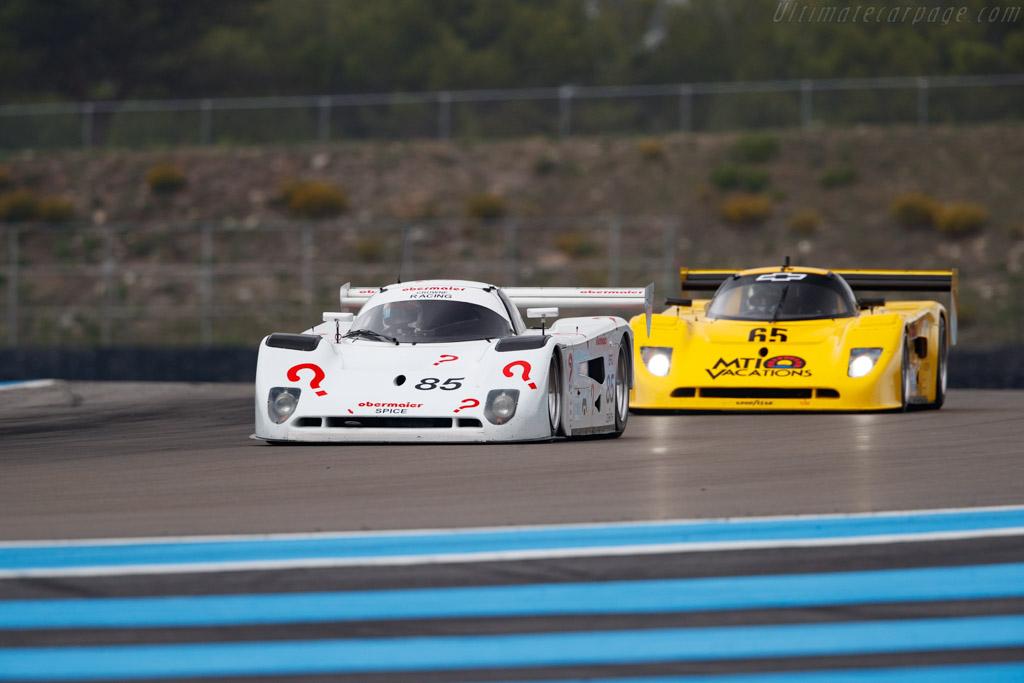 Spice SE90C - Chassis: SE90C-018 - Driver: Tony Sinclair - 2019 Dix Mille Tours