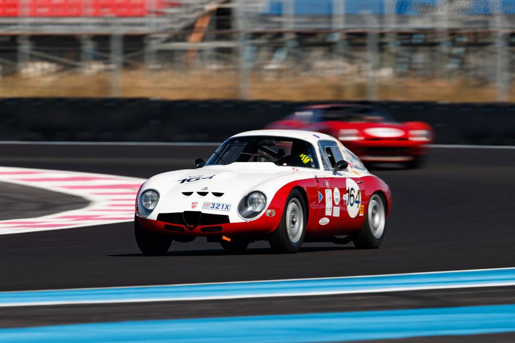 Alfa Romeo Giulia TZ - Chassis: AR10511 750107 - Driver: Franco Meiners - 2020 Dix Mille Tours