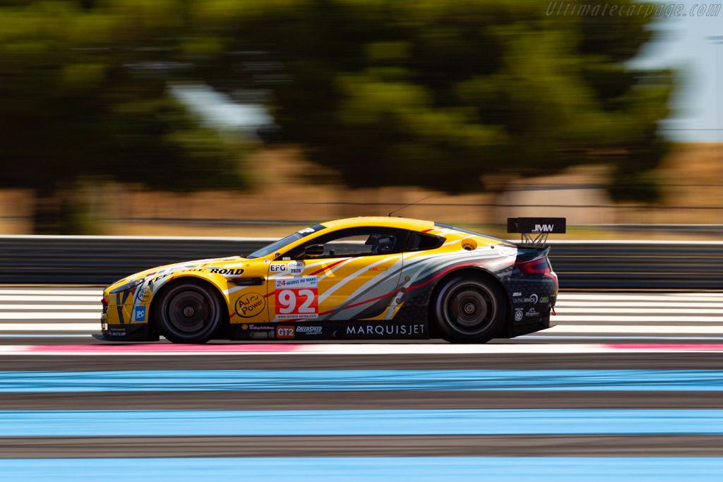 Aston Martin V8 Vantage GT2 - Chassis: GT2/006 - Driver: Franz Wunderlich - 2020 Dix Mille Tours