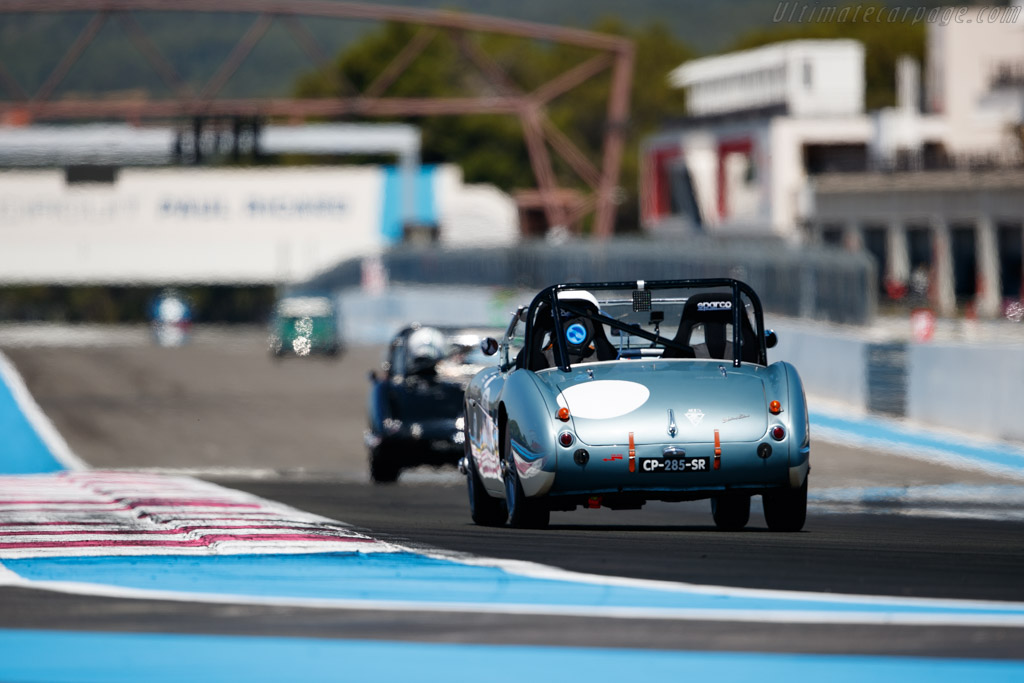 Austin Healey 100/4  - Driver: Thierry D'Haillecourt / Thibault D'Haillecourt - 2020 Dix Mille Tours