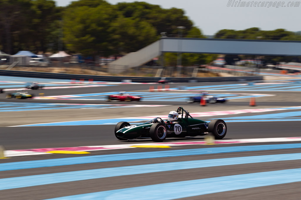 Cooper T76 - Chassis: F3-15-65 - Driver: Mauro Poponcini - 2020 Dix Mille Tours