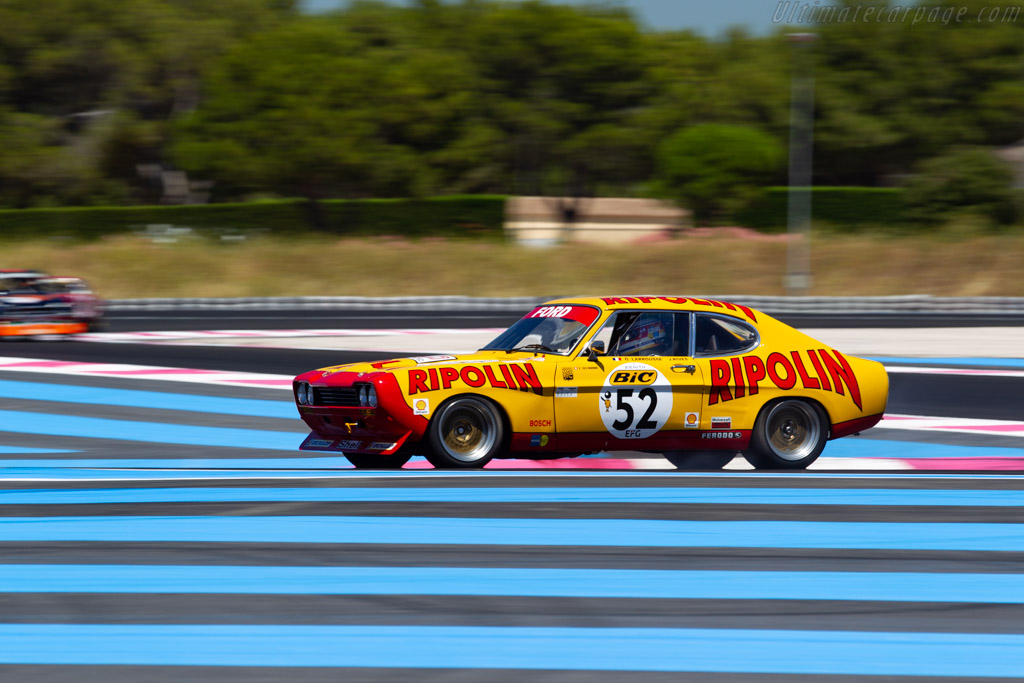 Ford Capri 2600 RS - Chassis: GAECLE42482 - Driver: Yves Scemama - 2020 Dix Mille Tours