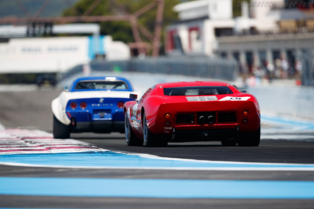 Ford GT40  - Driver: Olivier Galant - 2020 Dix Mille Tours
