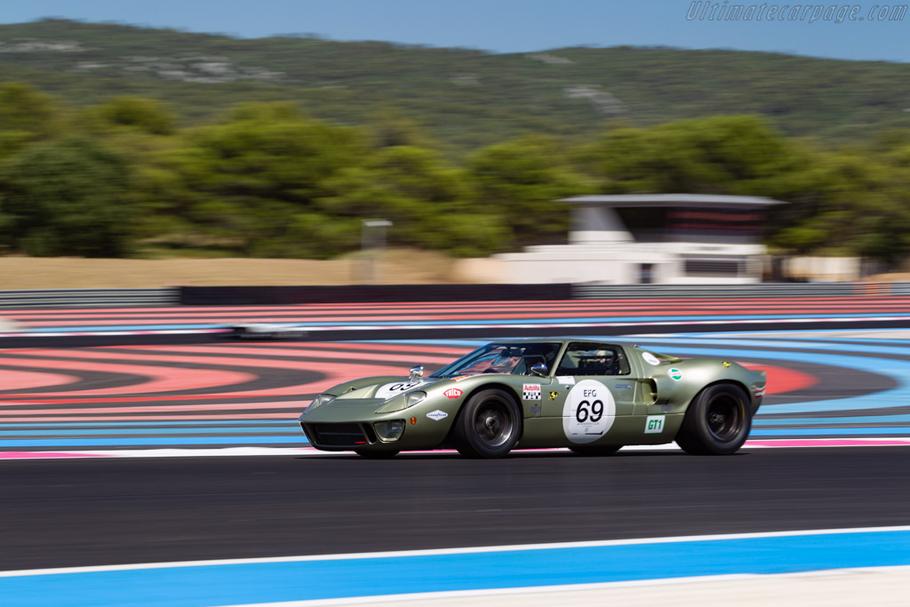 Ford GT40 - Chassis: GT40P/1078 - Driver: Mr John Of B / Soheil Ayari - 2020 Dix Mille Tours