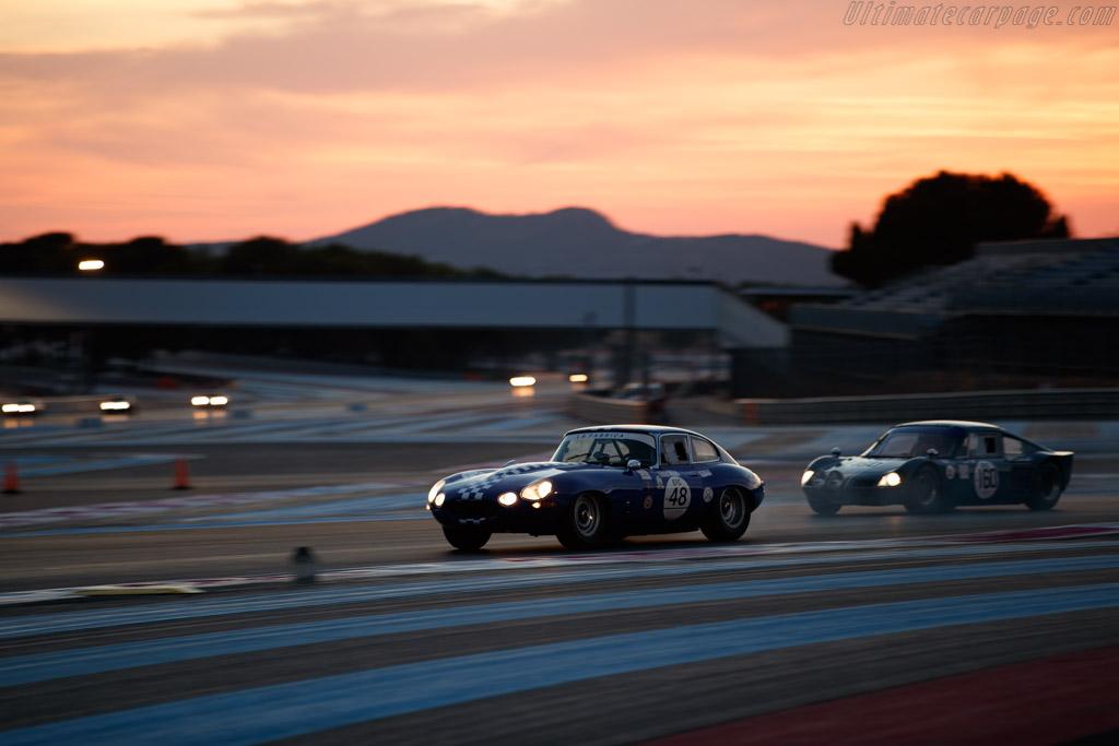 Jaguar E-Type 3.8 - Chassis: 888944 - Driver: Carlos De Miguel / Luis Delso - 2020 Dix Mille Tours