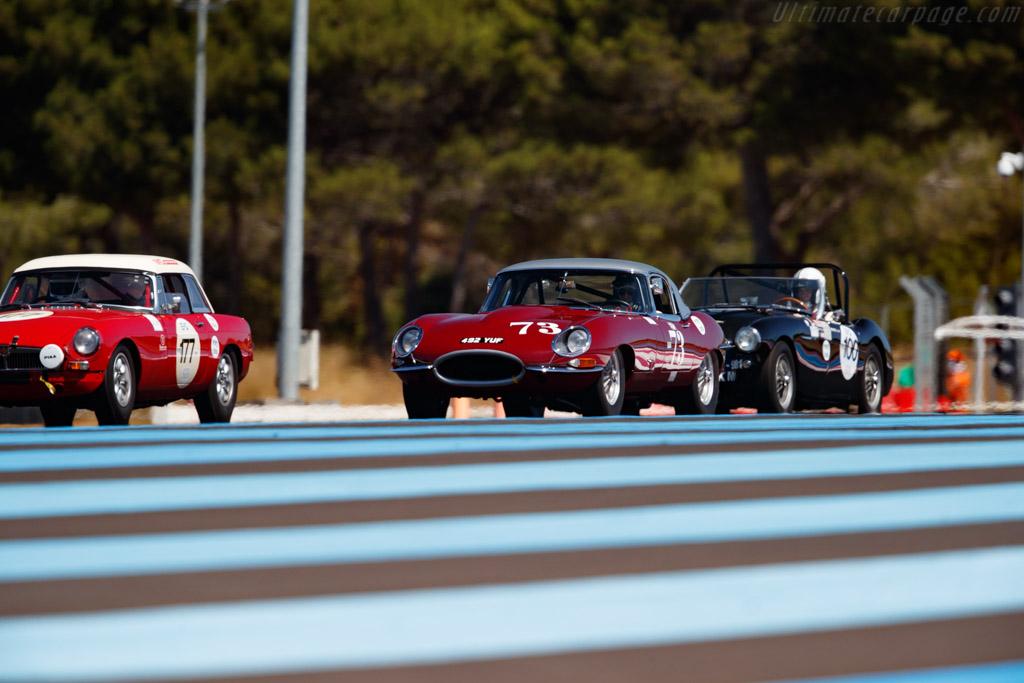 Jaguar E-Type 3.8 - Chassis: 876176 - Driver: Pierre Mellinger / Tommaso Gelmini - 2020 Dix Mille Tours