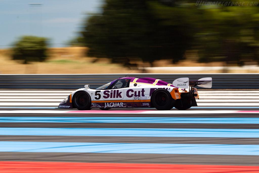 Jaguar XJR-9 - Chassis: J12-C-187 - Driver: Shaun Lynn - 2020 Dix Mille Tours