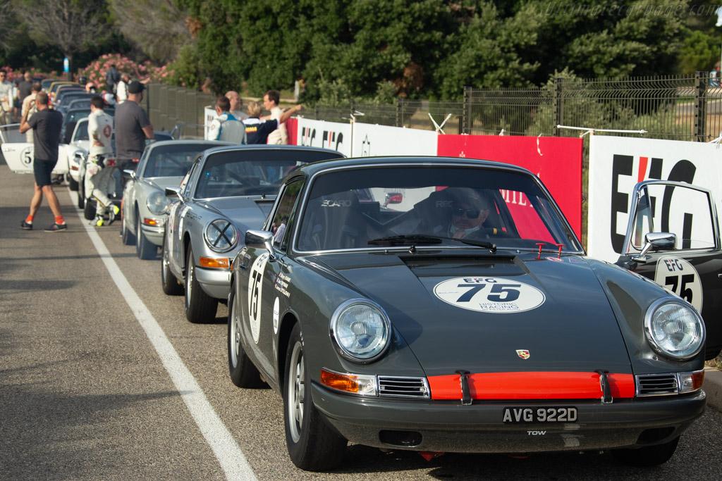 Porsche 911 - Chassis: 303525 - Driver: Simon Evans / Joe Twyman - 2020 Dix Mille Tours