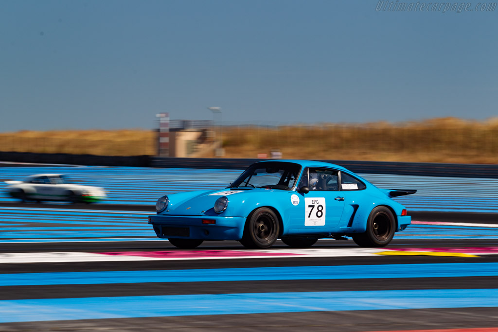 Porsche 911 Carrera RSR 3.0  - Driver: Michel Speyer - 2020 Dix Mille Tours